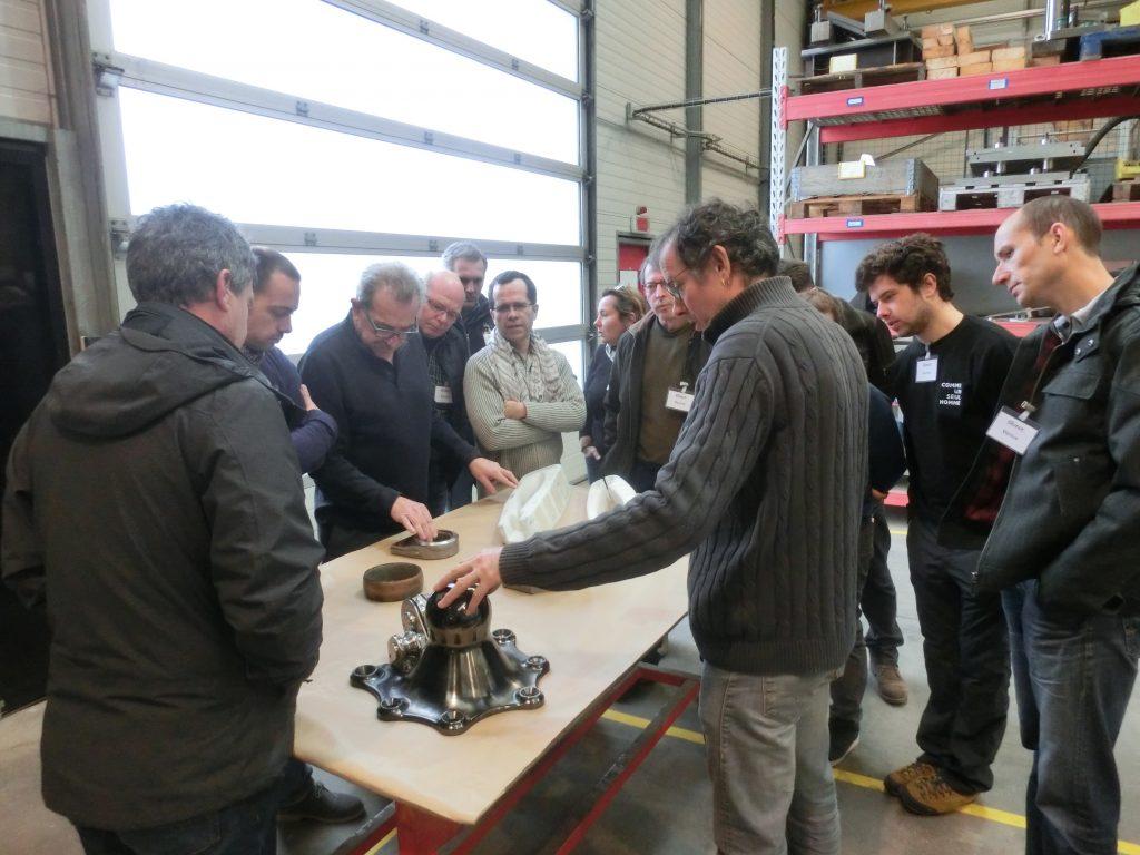 Les ateliers de l'entreprise Guelt Nautic