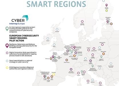 logo Europe Cybersecurity smart region