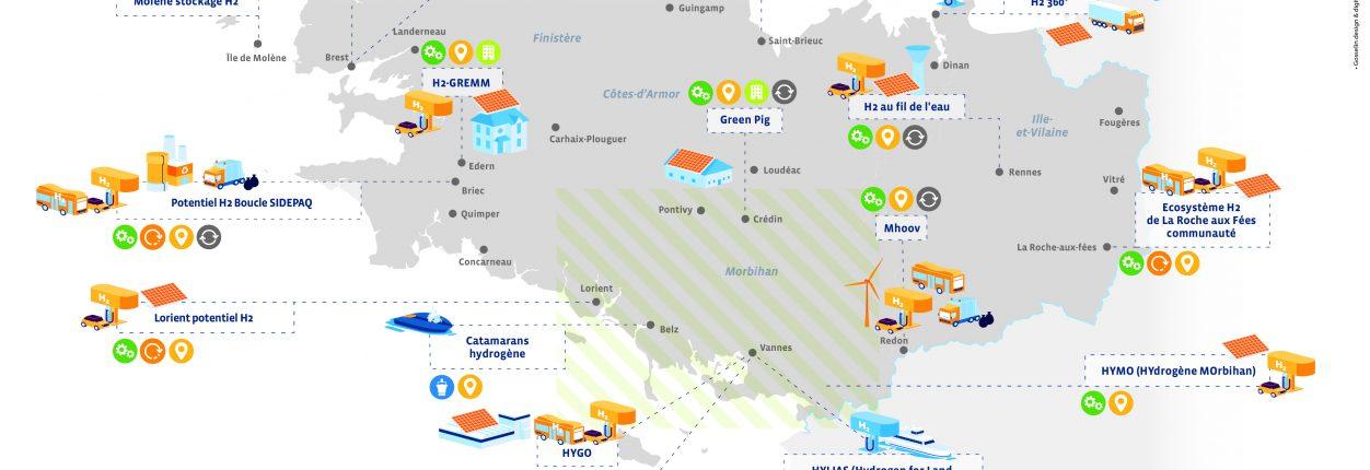 Carte des projets mai 2021
