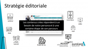 Stratégie éditoriale - Matinale Eurolarge
