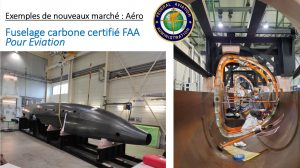 Ocean BotoB - Multiplast fuselage carbone pour Eviation