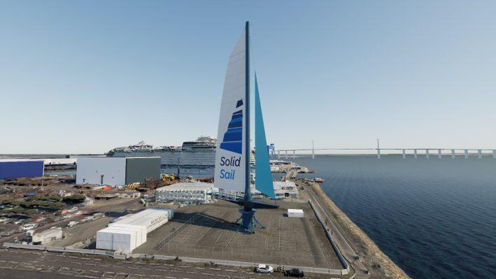 Solid Sail © Creasynth / Chantiers de l'Atlantique