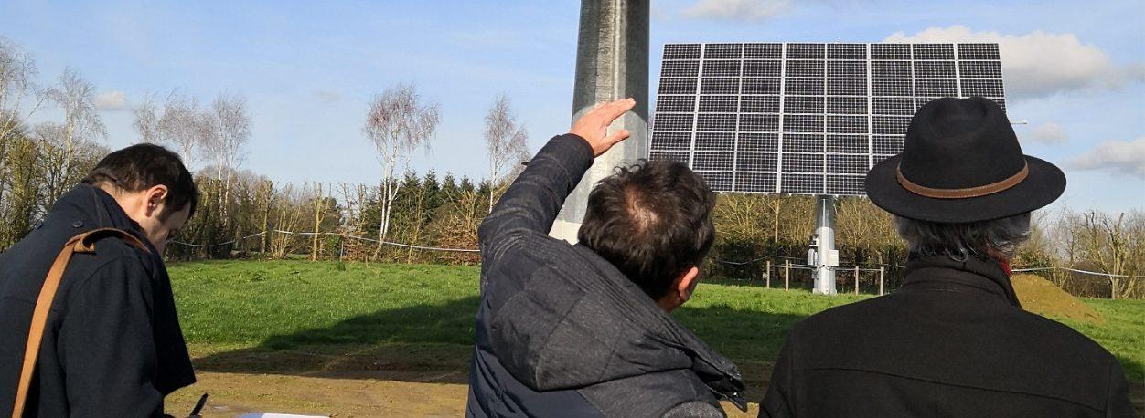 Tracker solaire Langouët