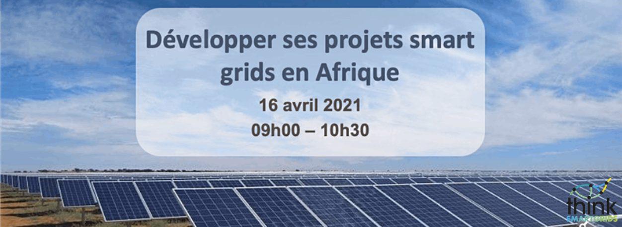 webinaire smartgrids Afrique